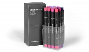 Stylefile Marker 12er Set wildberry